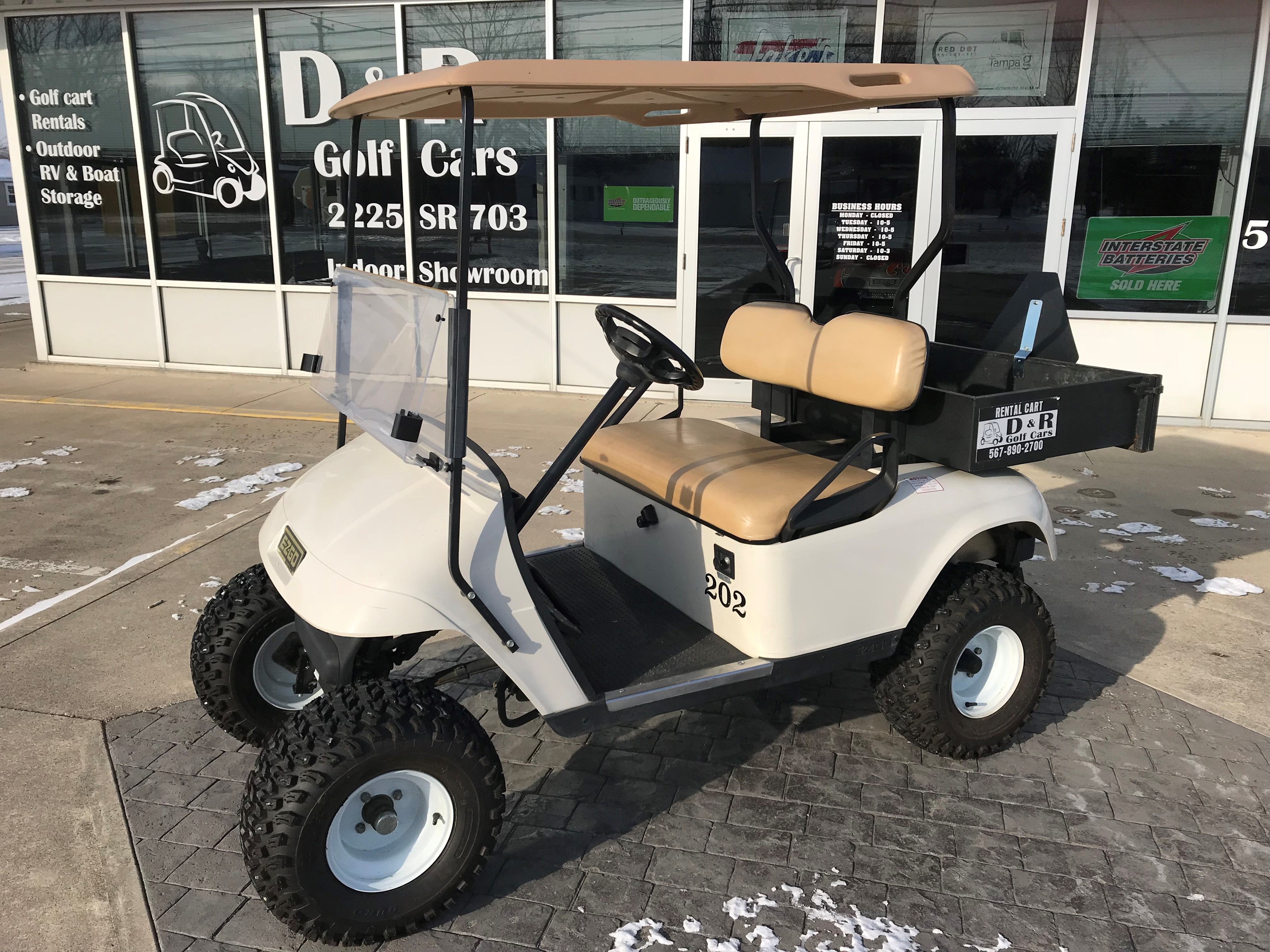 Golf Carts for Sale, Celina, OH - D & R Golf Cars on golf car boat, shoes boat, golf carts pull type,